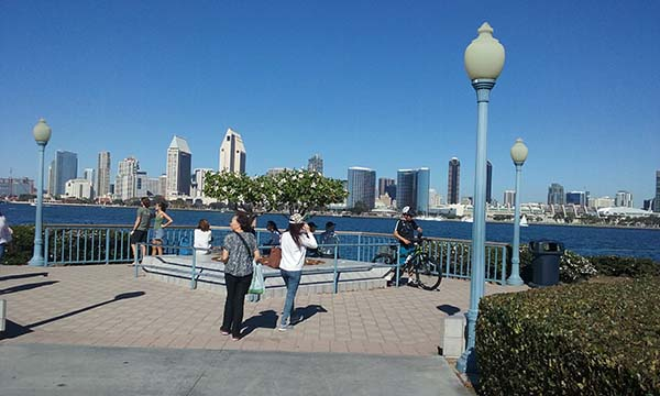 view of san diego - Scenic Cycle Tours - San Diego Bike Tours