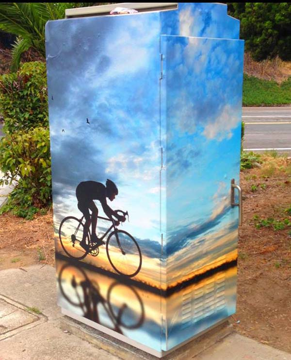 bike art - Scenic Cycle Tours - San Diego Bike Tours