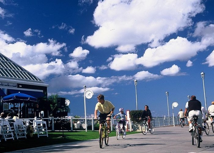 coronado ferry landing - Scenic Cycle Tours - San Diego Bike Tours