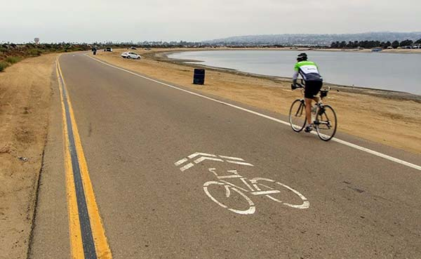 fiesta island - Scenic Cycle Tours - San Diego Bike Tours