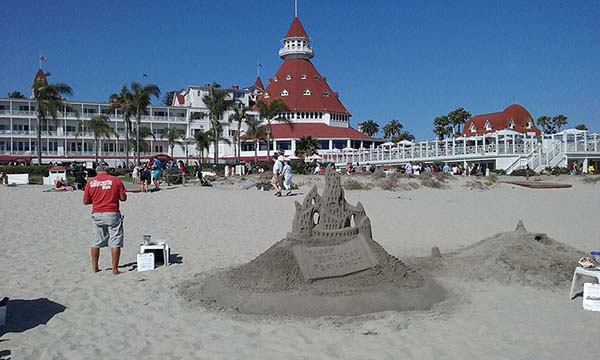 sand art - Scenic Cycle Tours - San Diego Bike Tours