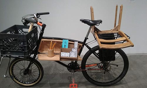 cargo bike by peter scheidt - Scenic Cycle Tours - San Diego Bike Tours
