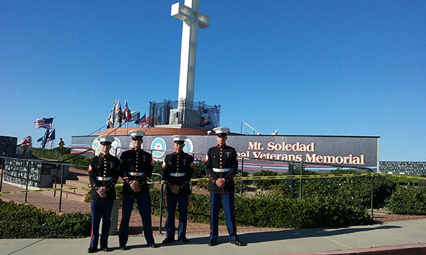 thanks for your service veterans - San Diego Scenic Cycle Tours