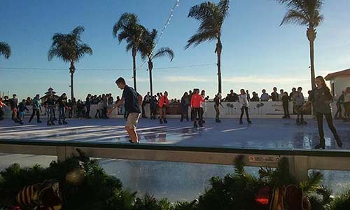 hotel del coronado ice skating rink - San Diego Scenic Cycle Tours