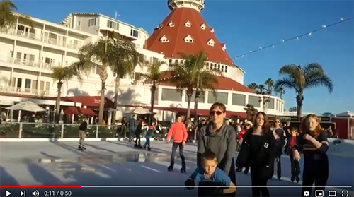 hotel del coronado skating - San Diego Scenic Cycle Tours