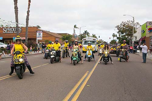 pb christmas parade - San Diego Scenic Cycle Tours