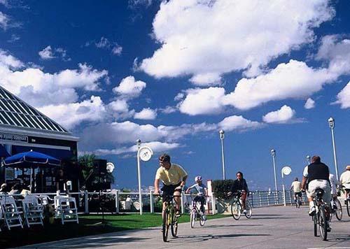 coronado ferry landing - San Diego Scenic Cycle Tours